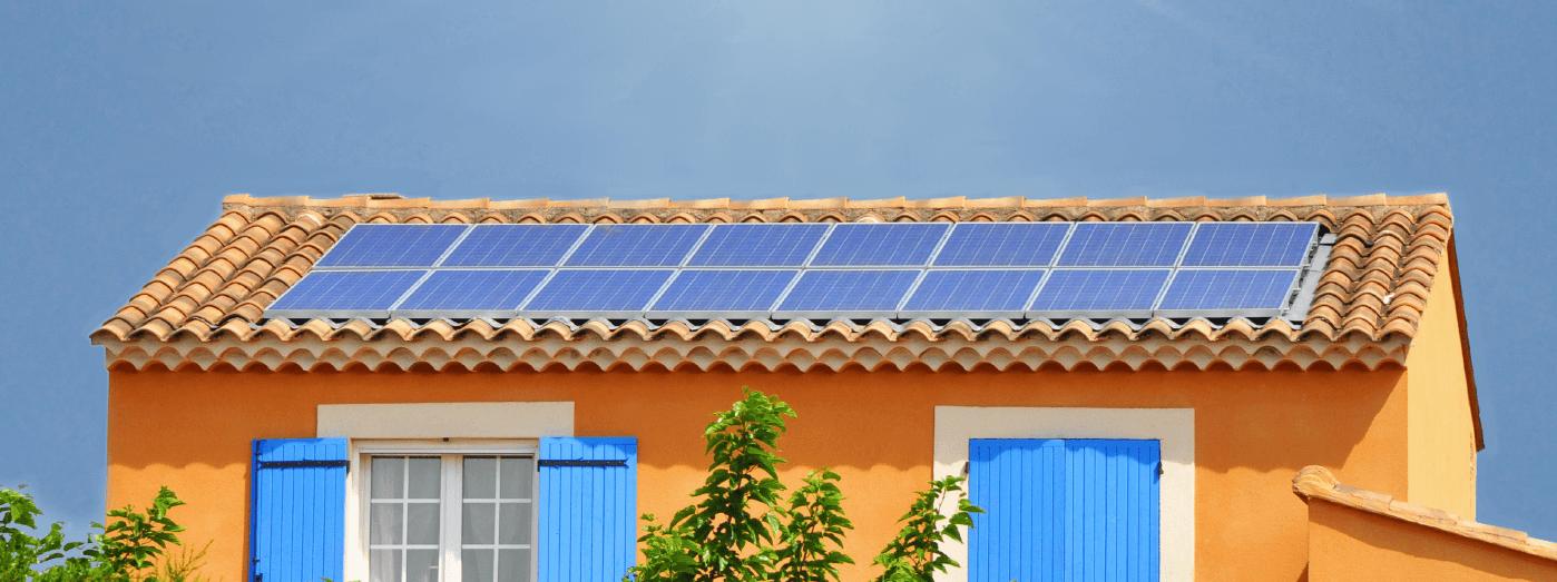 Une installation photovoltaïque dans le Puy de Dôme.